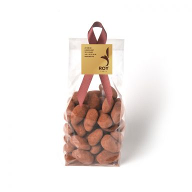 Cocoa Almonds With No Added Sugar - bag of 200 g