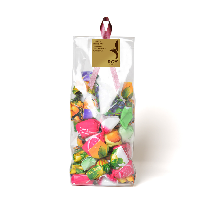 Assorted Fruit Filled Candies-bag of 250g