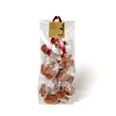 Soft and salted butter caramels - bag of 220g
