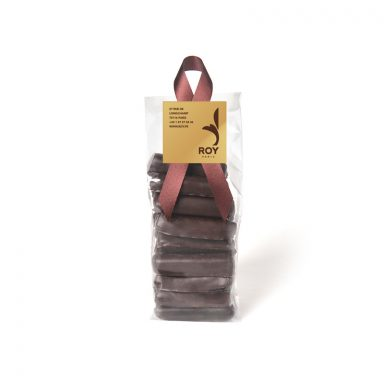 Candied Ginger with Dark Chocolate - bag of 200 g