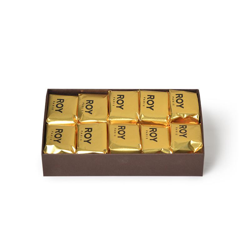 Marrons glacés – coffret de 10 pièces
