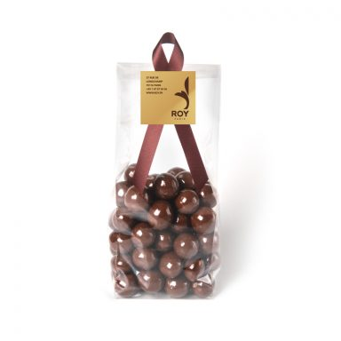 Hazelnuts Coated with Milk Chocolate - bag of 200 g
