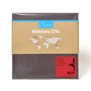 72% Dark Chocolate Single Origin Venezuela Bar