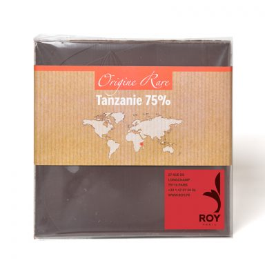 75% Dark Chocolate Single Origin Tanzania Bar