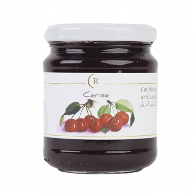 Cherry Jam With No Added Sugar made in Brittany, France