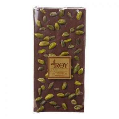 Sugar Free Dark Chocolate and Iranian Pistachio Bar