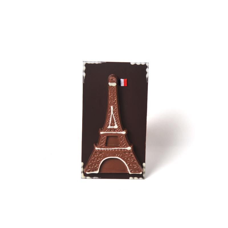 Eiffel Tower Milk Chocolate Bar - 70g