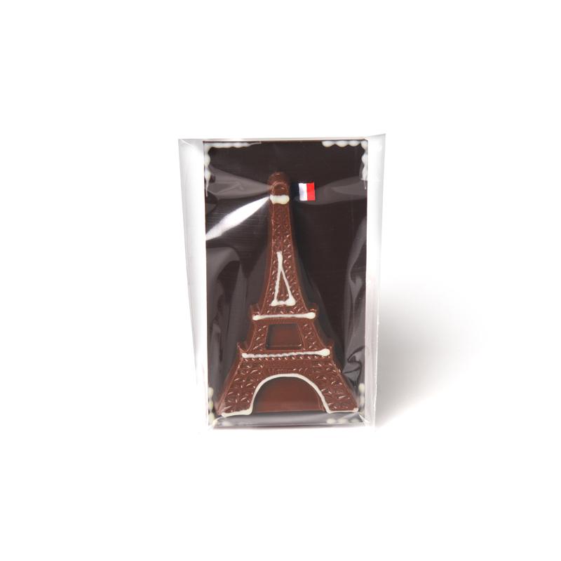 Eiffel Tower Milk Chocolate Bar - 70g packed