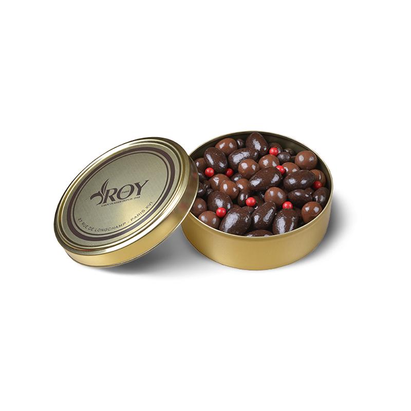 Amandes noisettes et grains de café - boîte de 320 g