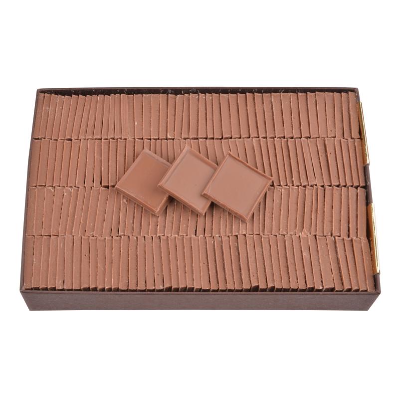 Sugar free milk chocolate parisian tiles - box of 550 g