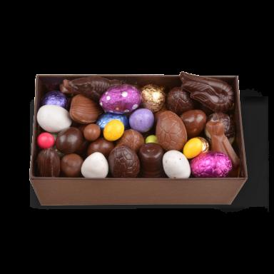 Oeufs de Pâques au chocolat – coffret de 400 g