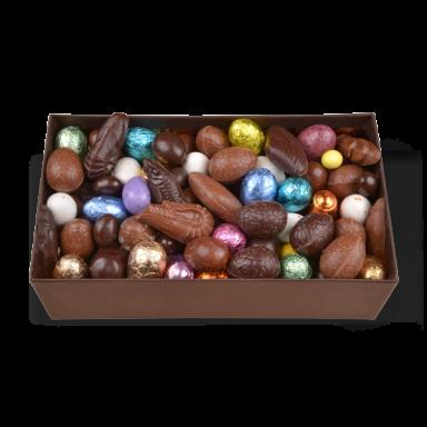 Oeufs de Pâques au chocolat – coffret de 800 g