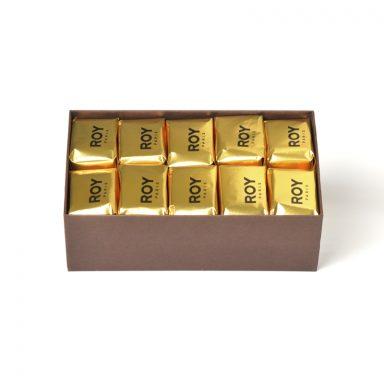 Marrons glacés - coffret de 22 pièces