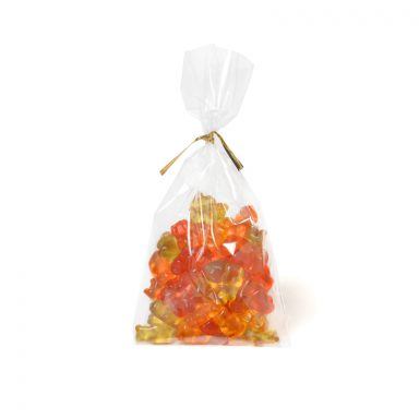 Organic Gummy Bear Made with Honey - bag of 100 g