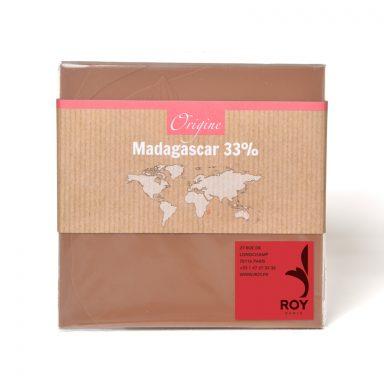 33% Milk Chocolate Single Origin Madagascar Bar