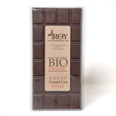 Organic Dark Chocolate Grand Cru Peru Bar