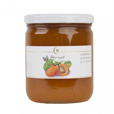 Apricot Jam With No Added Sugar, made in Brittany, France