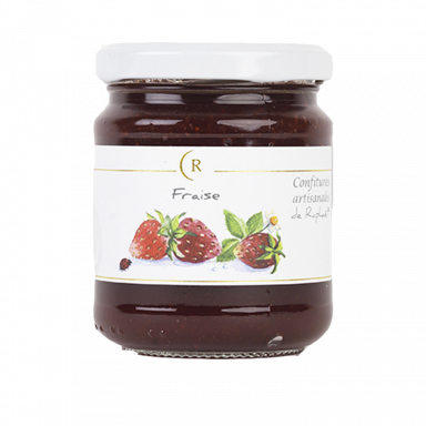 Strawberry Jam With No Added Sugar made in Brittany, France